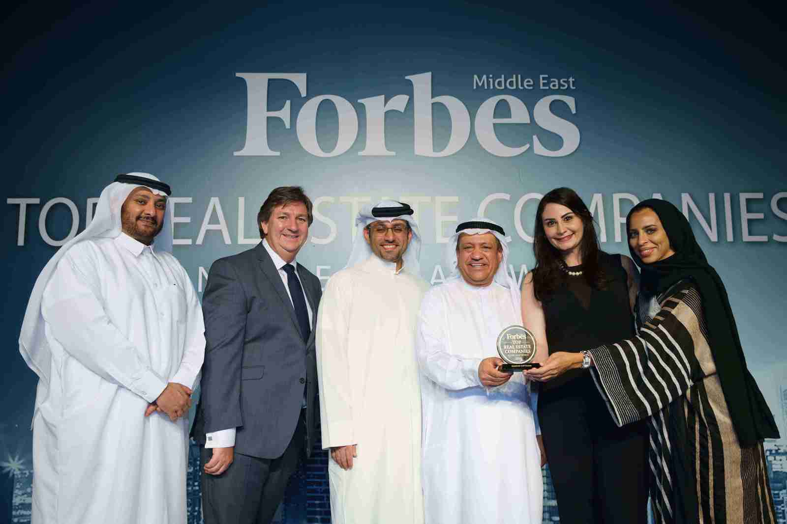 Jumeirah Golf Estates recognized as a Top Real Estate Company in the Arab World