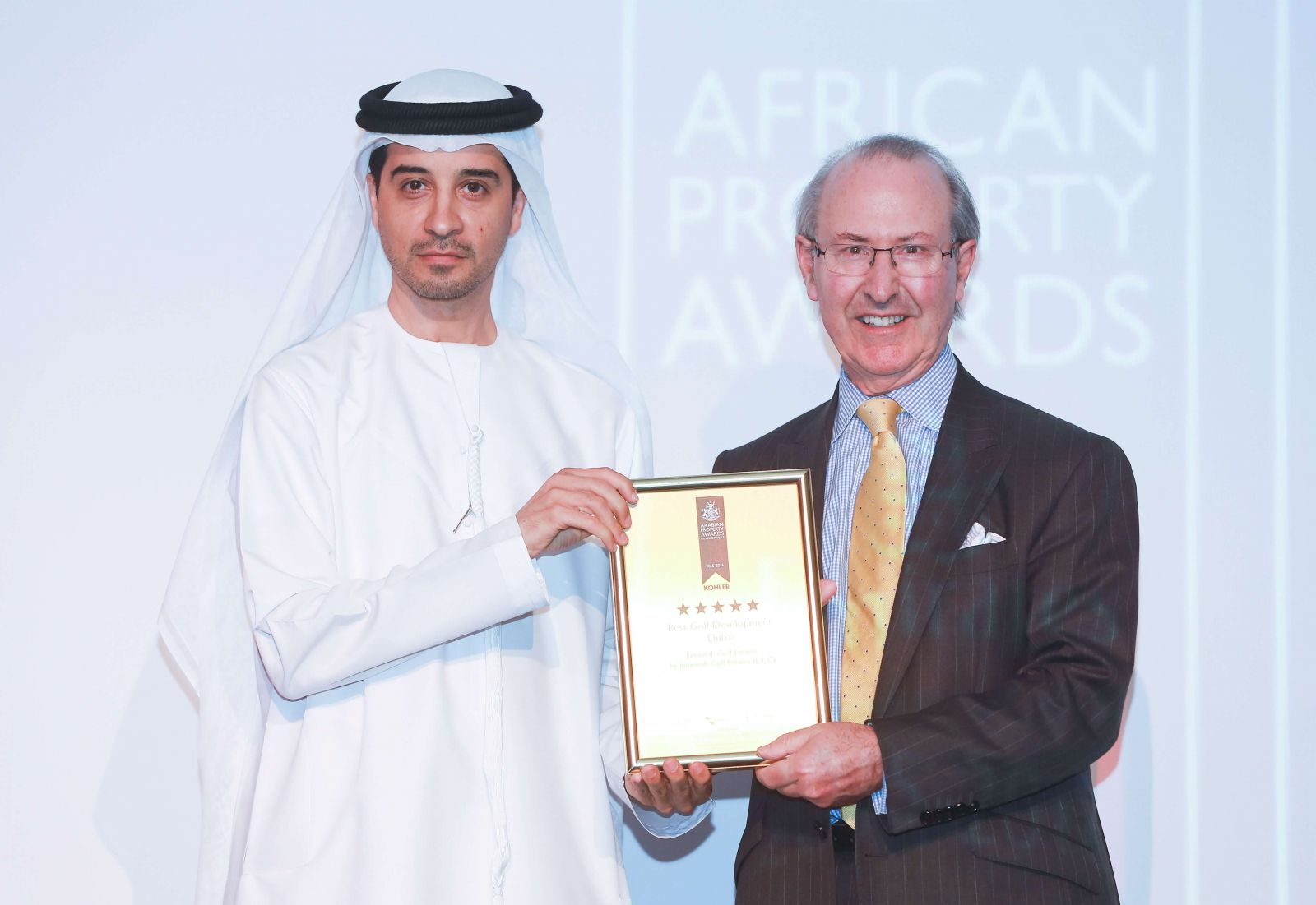 Jumeirah Golf Estates Scoop Treble Accolade At The Arabian Property Awards 2015