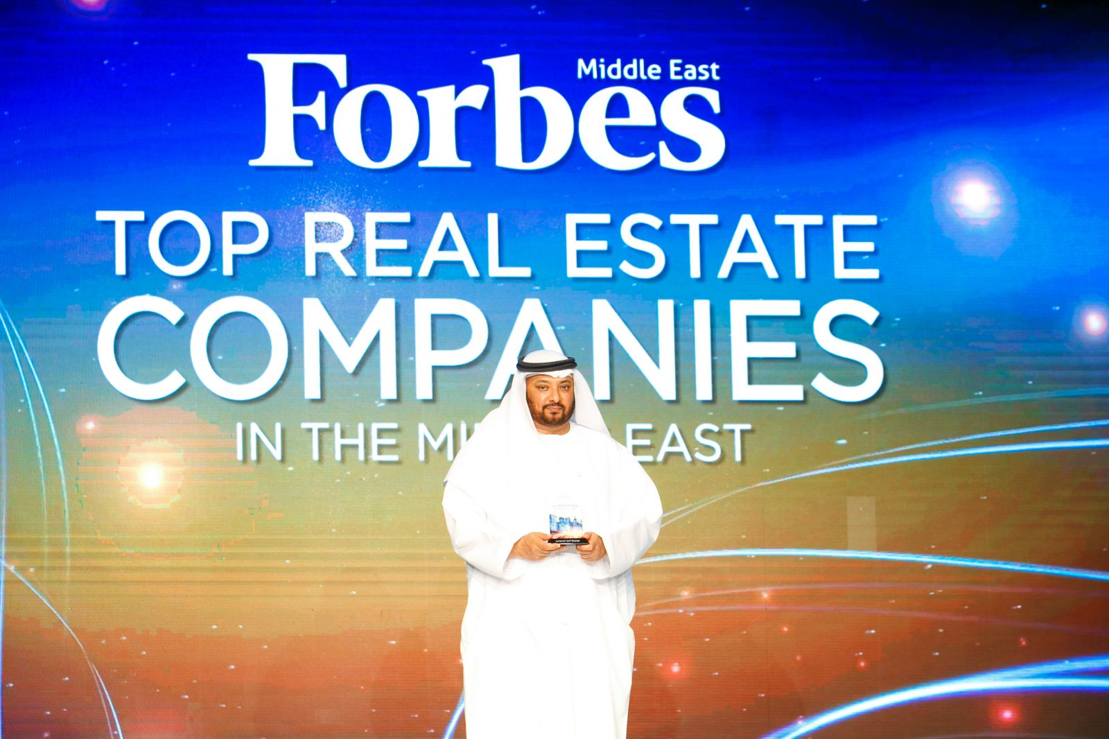 JUMEIRAH GOLF ESTATES NAMED ONE OF THE TOP 100 REALESTATE COMPANIES IN THE MIDDLE EAST