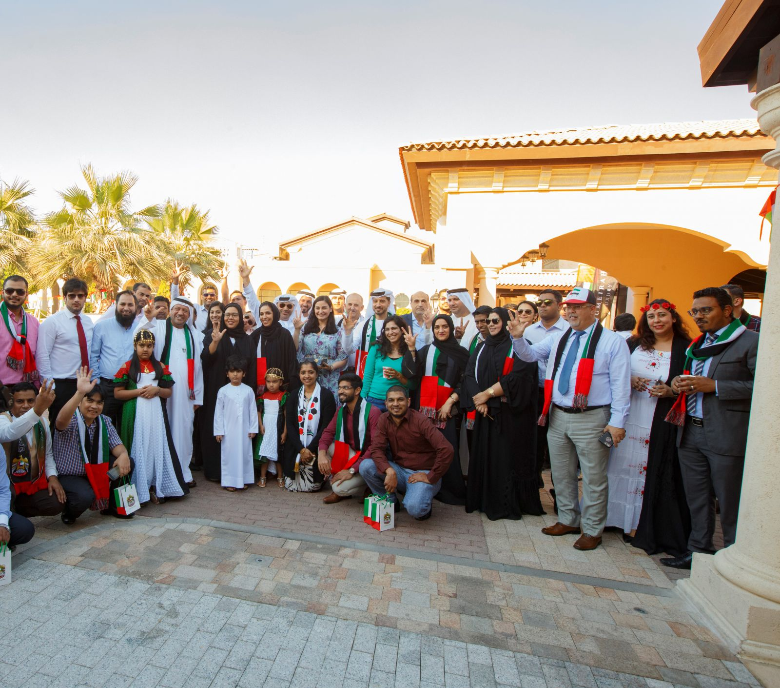 Jumeirah Golf Estates Celebrates 46th UAE National Day