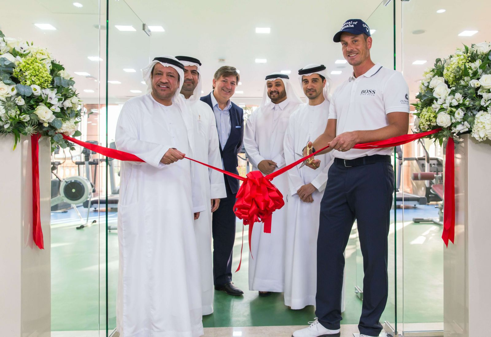 Jumeirah Golf Estates Celebrates Clubhouse Gym Opening With Brand Ambassador Henrik Stenson