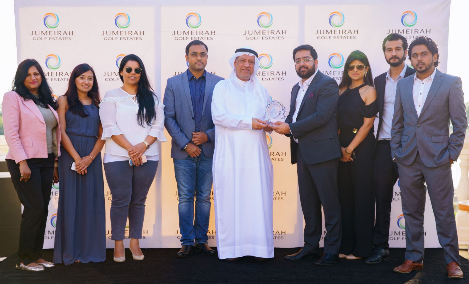 Jumeirah Golf Estates Celebrates 40% Sales Increase in 2017 at Annual Brokers Awards Event