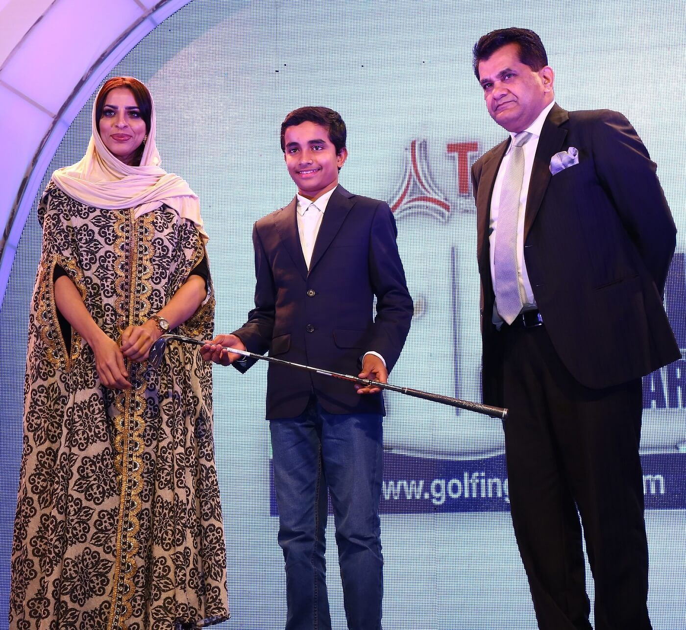 Jumeirah Golf Estates presents the Indian Golf Awards, Young Achievers Award.