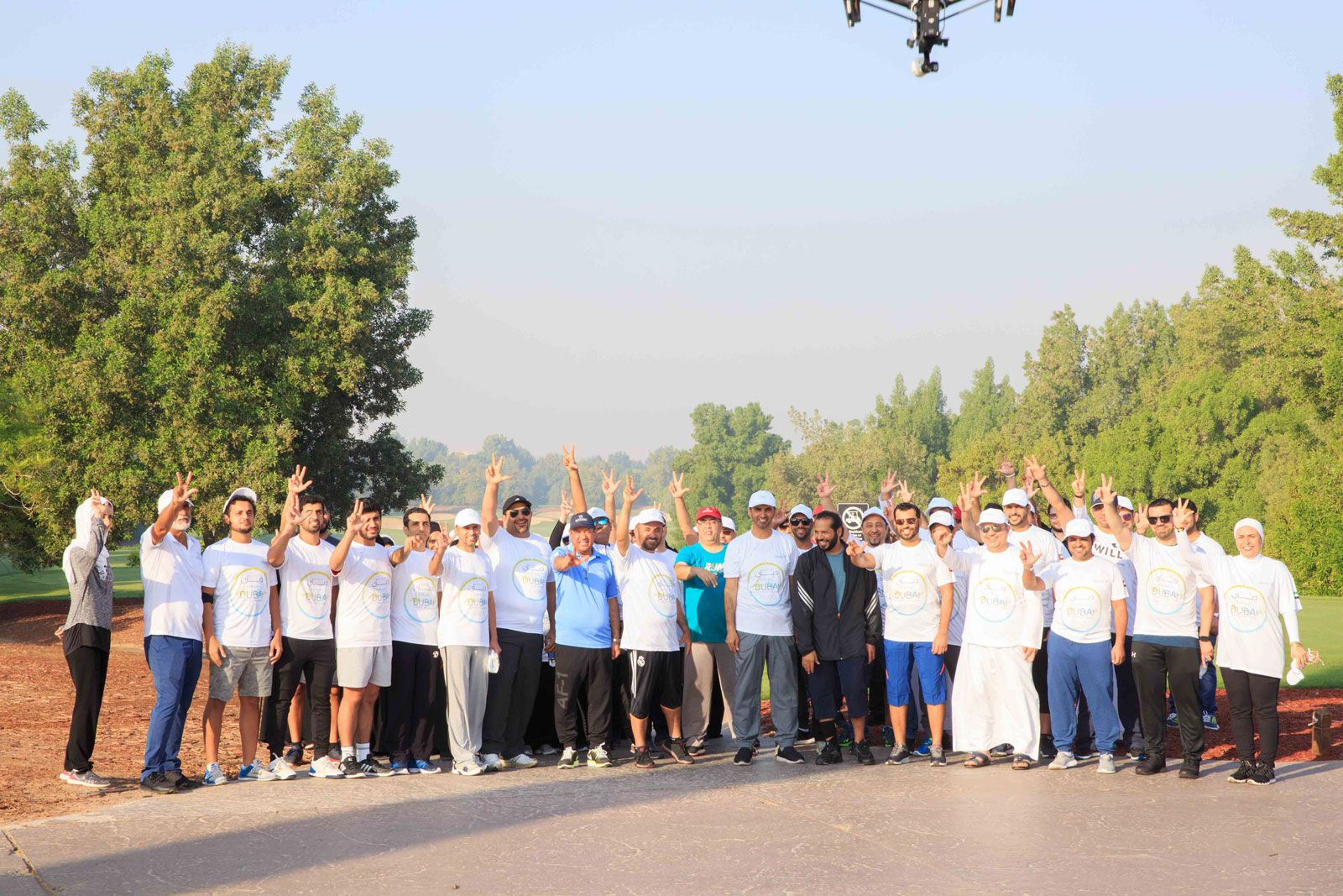 Dubai Land Department chooses Jumeirah Golf Estates to kick off its first ever Real Estate Fitness Challenge