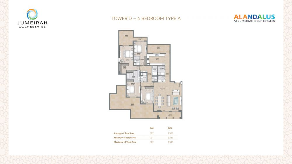 D 4 Bedroom Type A